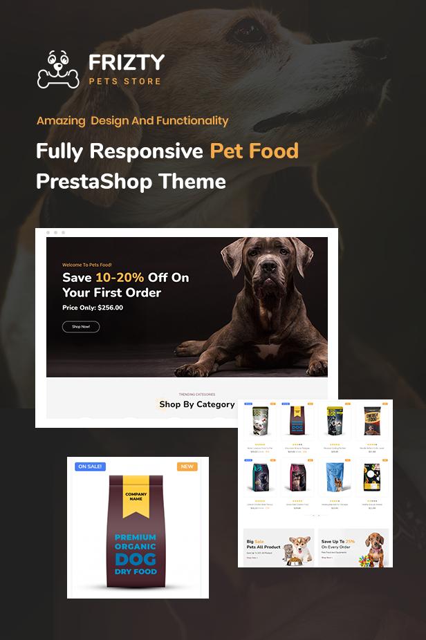 Pet Shop Prestashop Theme