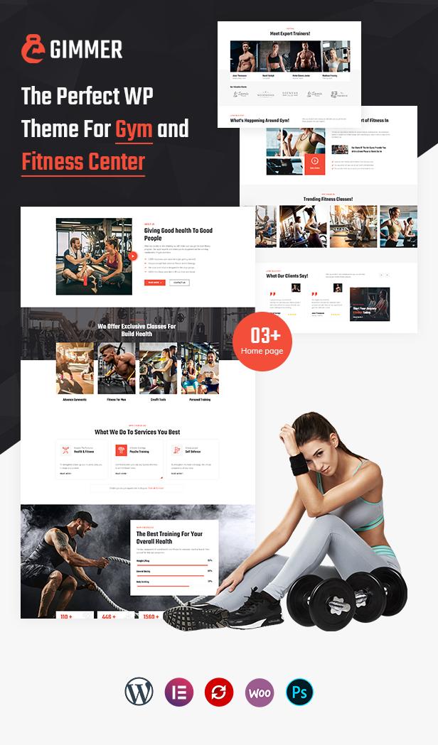 Health & Fitness WordPress Theme