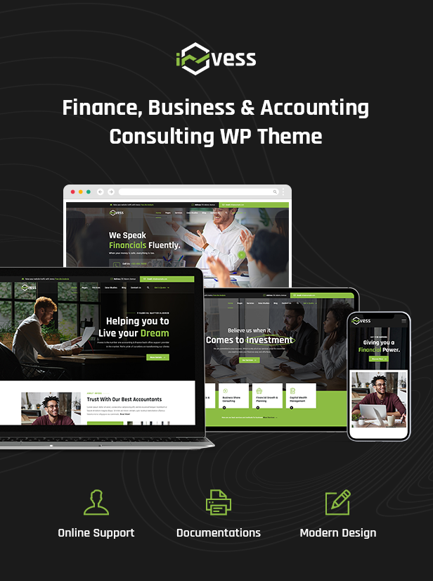 Invess Accounting & Consulting WordPress Theme
