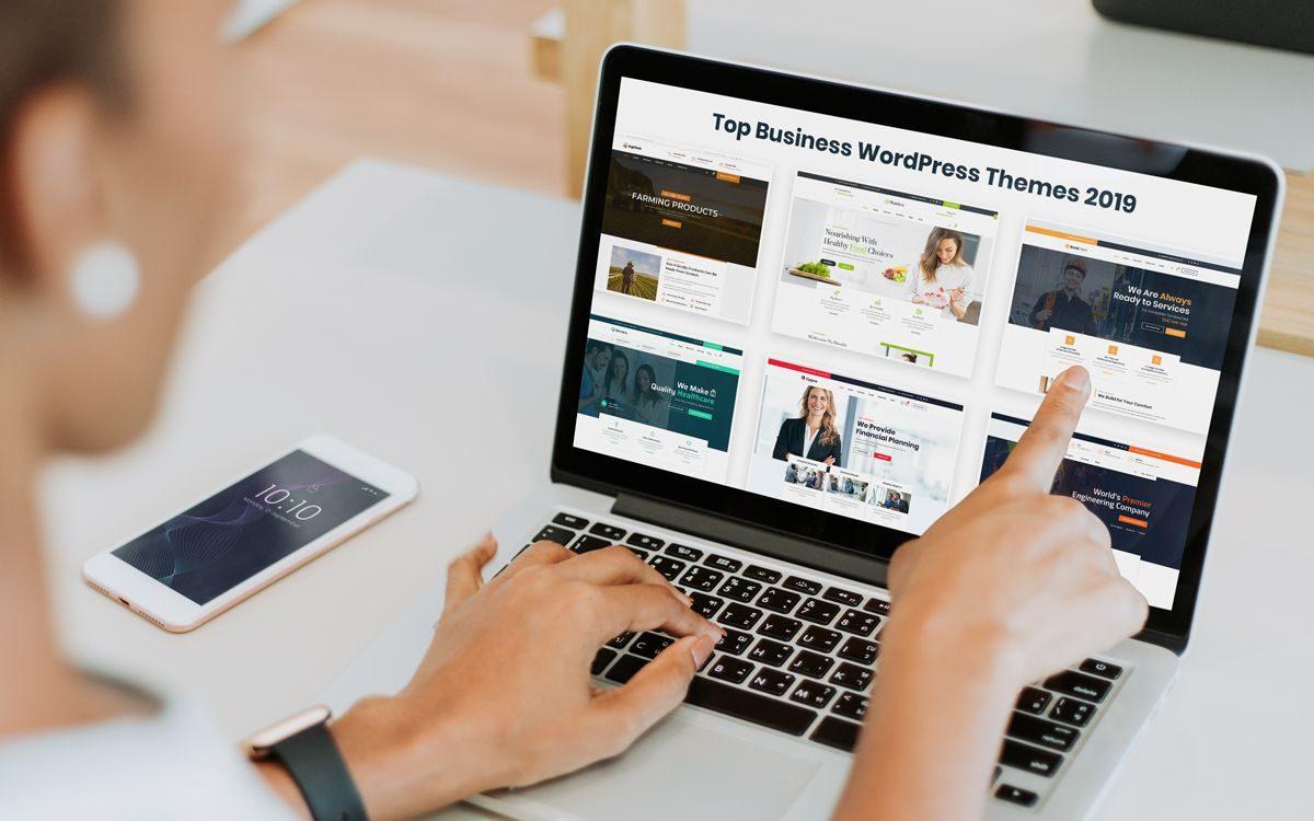 Promising WordPress Themes by themetechmount