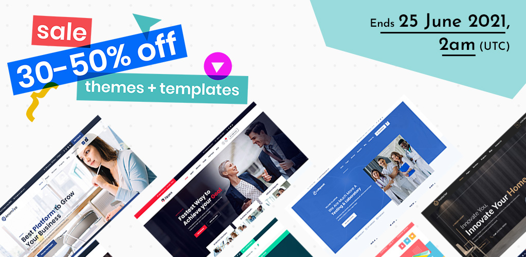 themetechmount mid year sale on premium themes and templates